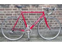 French fast road bike GO SPORT frame size 22inch 14 speed, Shimano ,serviced - WARRANTY