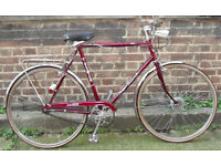 Vintage city dutch bike ELSWICK 3 speed , frame size 21 - serviced ready to go Welcome for test ride