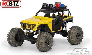 Jeep Wrangler Rubicon Customized Clear Body PL3380-00 Axial Wraith dash decal