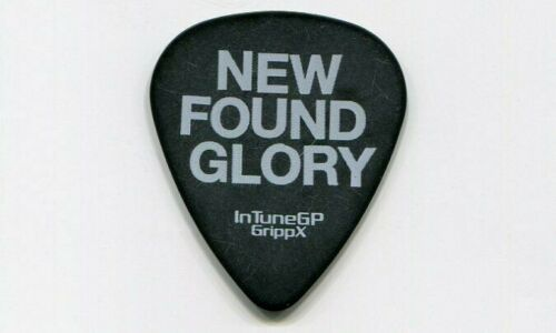 NEW FOUND GLORY 2007 Europe Tour Guitar Pick!!! custom concert stage Pick #2