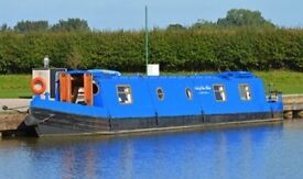 50' cruiser style narrow boat 2006. 6 berth. Recently surveyed. 2 owners from new.