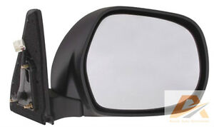TOYOTA-LANDCRUISER-PRADO-J120-SERIES-ELECTRIC-SIDE-DOOR-MIRROR-BLACK-CHROME
