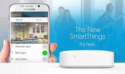 Samsung SmartThings Hub 2nd Generation.