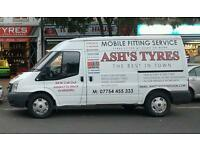 Mobile tyre services