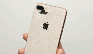 iPhone 8 ○ 8+ ○ X  Back Glass & Screen Repair Starts from $99