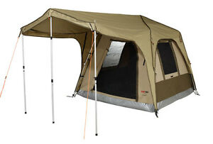 Black Wolf Turbo 300 5 Person Canvas Family Touring Tent