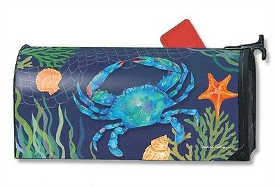 Magnetic Mailwraps Blue Crab Mail Wrap  01464