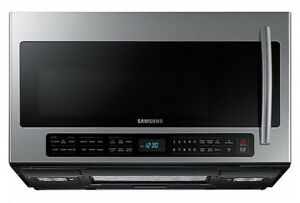 Over-The-Range Samsung 2.1 Cu.Ft Microwave (ME21H706MQS)