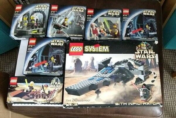 Very Rare Boxed With Instructions Original Star Wars Lego Sets Final