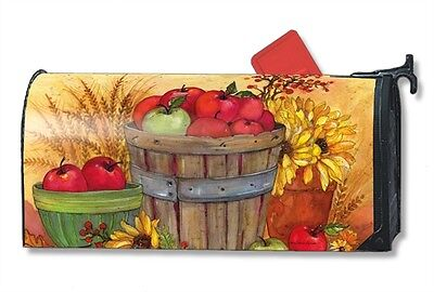Bushel Of Apples Mail Box Wrap Fall Magnetic Mailwrap Mailbox Cover