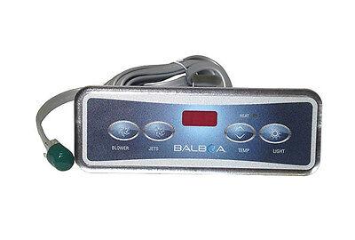 Balboa Lite Duplex Digital Panel - Balboa Water Group - Topside Panel, VL403 / LITE DUPLEX DIGITAL LED - 51676