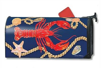 Magnetic Mailwraps Lobster Nautical Shells Mail Wrap  01465