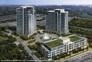Vaughan, Thornhill, Markham, Richmond Hill, 1 and 2 bedroom