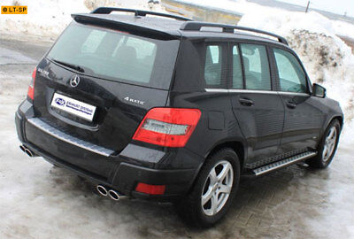 FOX Anlage ab Kat Mercedes GLK X204 09- 3.0l re li je 2x106x71mm oval RohrØ55mm