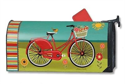Magnet Works Summer Ride Magnetic Mailbox Wrap Cover