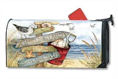 Magnetic Mailwraps To The Beach Mail Wrap  01457