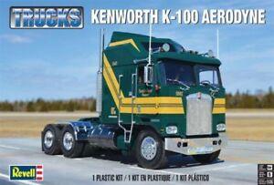 Revell Trucks Kenworth K-100 Aerodyne 1/25 Scale Plastic Model Kit 85-2514