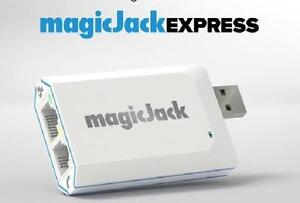 magicJackEXPRESS - 3 Months of Service -  No Contract - Unlimited Local & Long Distance to the U.S. & Canada