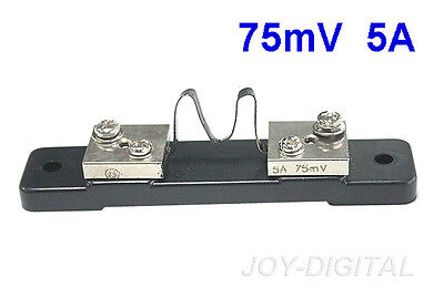 FL-2 75mV DC 5A Current Shunt Widerstand für Amp Analog Voltmeter Amperemeter
