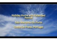 Holiday Home with Extended Rental, Costa De Prata, Portugal