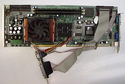 Advantech Pca-6186lv Rev A1 Industrial Sbc Single Board Computer