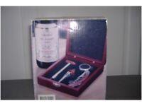 Wine bottle opener kit