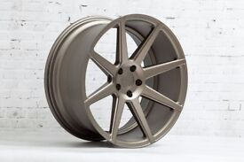 "19"" Staggered Ispiri ISR8 on tyres for an E90, E91, E92 and E93 BMW 3 Series"