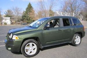 2007 Jeep Compass 2 wheel drive SUV, Crossover