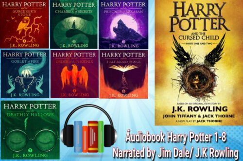 Harry Potter Complete Series Collection 1-8 |  🔊 Audiobook Mp3