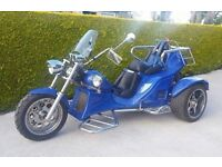 BOOM FUN Ultimate trike, automatic with reverse gear