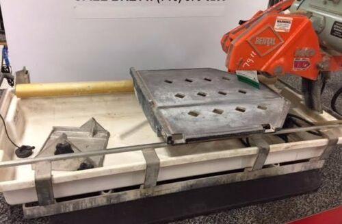 "Wet Tile Ceramic Saw MK-101 Pro24 10"" Used MK Diamond Cutting Masonry Cutter"