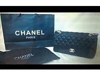 Ladies lambskin bag High Quality leather Chanel Handbag £125