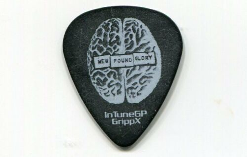 NEW FOUND GLORY 2012 Radiosurgery Tour Guitar Pick!!! custom concert stage #1