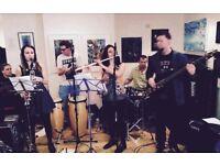 Established 6-piece Brazilian band seeking saxophonist and brass players