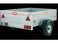 CADDY TRAILER 640 (6' X 4') COMPLETE WITH HEAVY DUTY WATERPROOF COVER - SINGLE AXLE