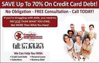 Credit Card Debt, Bank loans holding you back? Call us Free