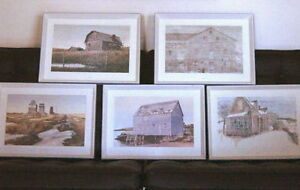 10 Canadiana Prints-'Vanishing Buildings of Canada' 1970 London Ontario image 1