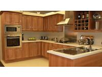 Complete Walnut Kitchen For Sale