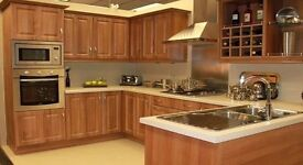 Complete Kitchens For Sale, Walnut, Cream Gloss, White Gloss