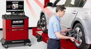 PROTECT YOUR TIRES WITH A WHEEL ALIGNMENT, NEW SPECIAL PRICE!!