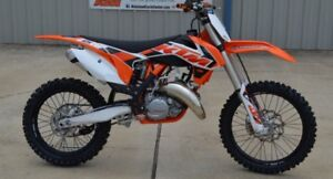 LOOKING FOR A 125/150 KTM 2 STOKE DIRT BIKE