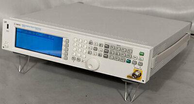 New Keysightagilent N5181a-501 Mxg Analog Signal Generator 1 Khz - 1 Ghz