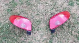 Peugeot 206 taillights