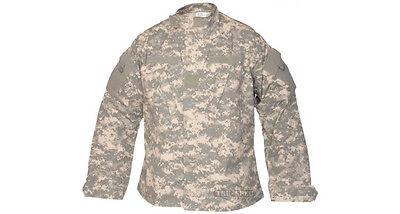 Nyco Ripstop Shirt - 1950 Tru-Spec Army Combat Uniforms ACU Shirt - 50/50 Nyco Rip Stop