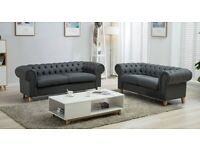 🤩🤩Hot Sale - Brand New CHESTERFIELD 3+2 SOFA SET- Best Price with Premium Quality🤩🤩