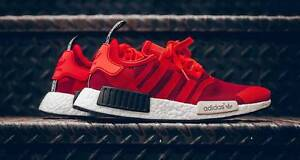 Adidas NMD R1 Runner - Red Geometric Camo (S79164) - US 7.5 Surry Hills Inner Sydney Preview