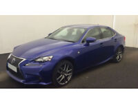 Lexus IS F SPORT FROM £135 PER WEEK!