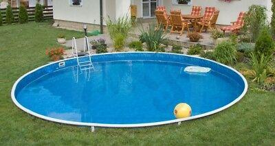 Innenfolie 4,60x bis 1,20 Innenhülle Poolfolie Ersatzfolie Schwimmbadfolie Pool