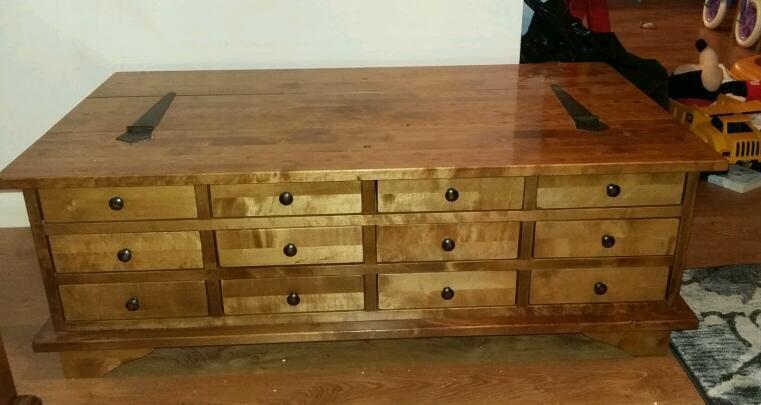 laura ashley garrat honey coffee table | in hull, east yorkshire
