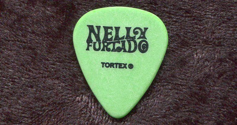 NELLY FURTADO 2007 Loose Tour Guitar Pick!!! custom concert stage Pick